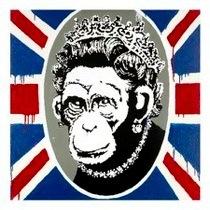 Banksy Flag