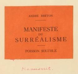Manifeste du Surrealisme