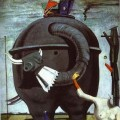 Max Ernst - Elephant (1921)