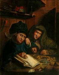 Quentin Metsys - The Moneylenders
