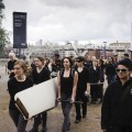 The Gift performance by Liberate Tate Tate Modern 7 July 2012 Credit: Ian Buswell
