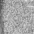 Fragment from the Papal Bull announcing the judgement against Eckhart