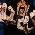 Oswaldo Guayasamin – Hands of Protest