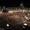 15-M Puerta del Sol at Midnight 14 May 2012