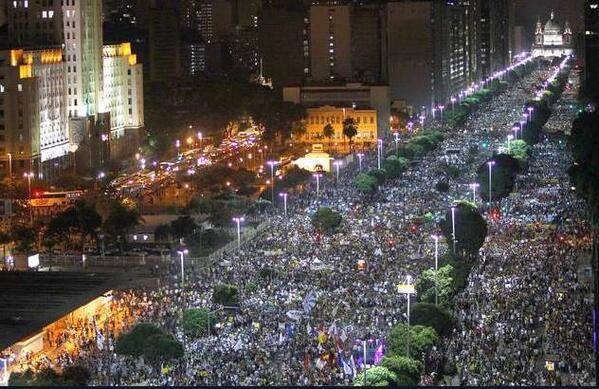 Rio de Janeiro, 20 June 2013