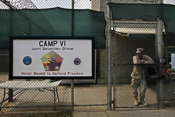 Guantanamo's Camp 6 maximum-security detention facility.