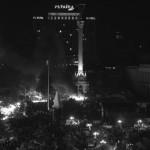 Freedom and Kiev central square, Maidan Nezalezhnosti.