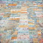 Paul Klee, Hauptweg und Nebenwege, 1929, oil on canvas, 83,7 x 67,5 cm, Museum Ludwig 1976.