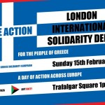 Syriza Solidarity Demo