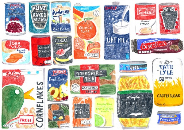 A food package, Lucie Stoddart