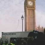 police guarding westminster