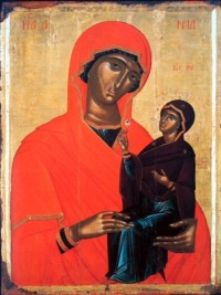 anne and mary icon