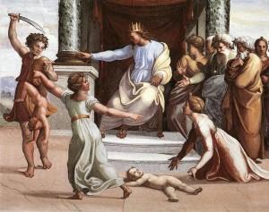 Rafael's Judgement of Solomon (1519)