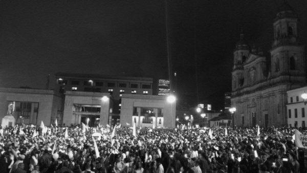 Photo. 5. Marcha por la Paz. (Plaza de Bolívar, Bogotá, 5 October 2016). Paola A. Acosta.