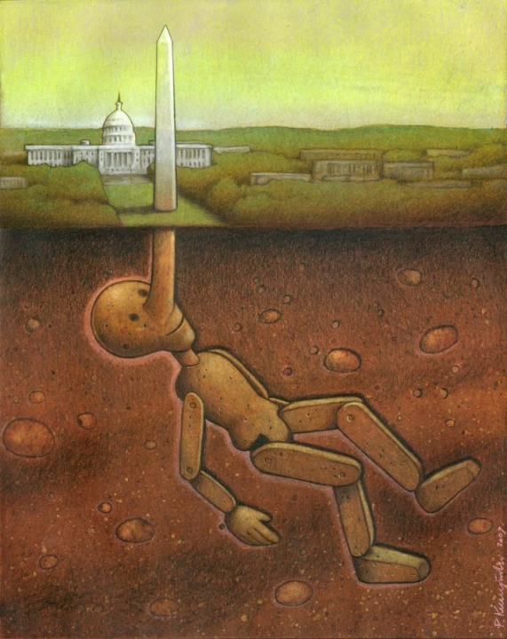 Pale Kaczynski: Washington DC & Pinocchio