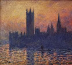 Monet, Houses of Parliament, Sunset 1903