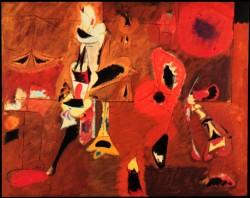 Arshile Gorky, Agony (1947)
