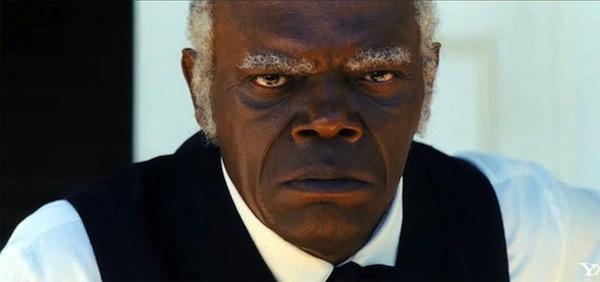 Samuel Jackon as Stephen in Django Unchained