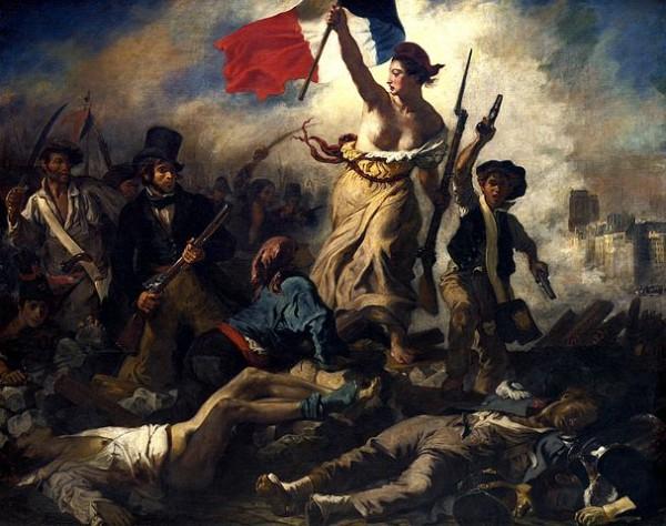 Eugène Delacroix's Liberty Leading the People