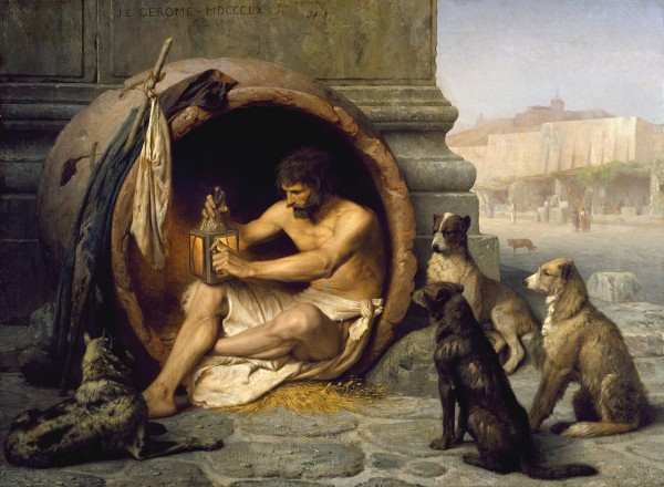 Jean-Léon Gérôme - Diogenes - Walters