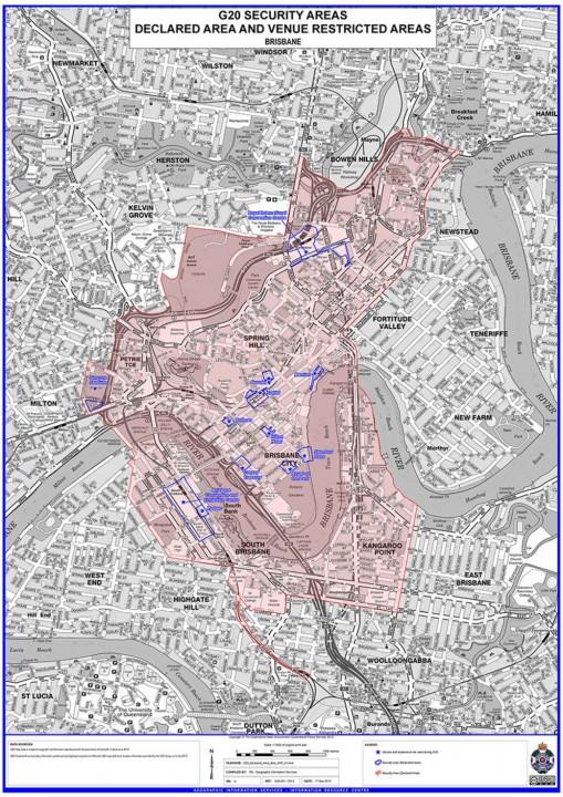 Brisbane Exclusion Zone