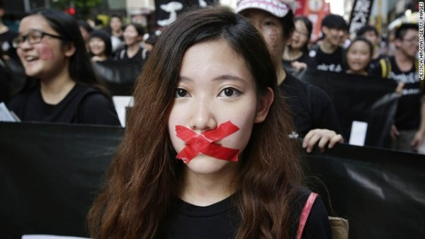 Occupy Central Protestor 2014